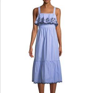 kate spade ♠️ daisy embroidered patio dress NWT